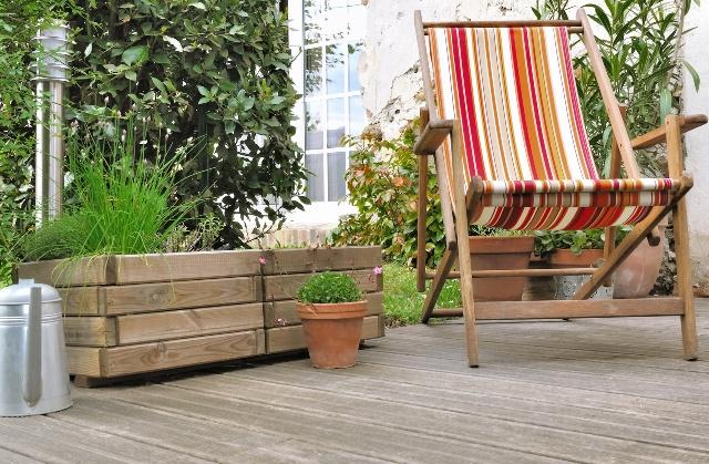 Drewniane Donice Ogrodowe Donice Na Taras I Balkon