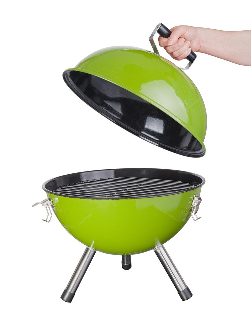 grill węglowy