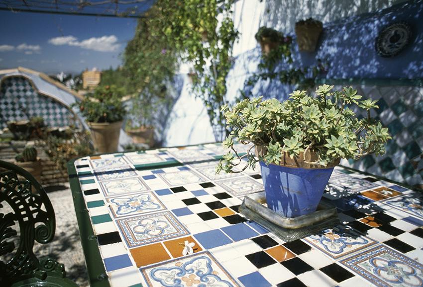 table en terrase