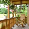 Huśtawki tarasowe i balkonowe