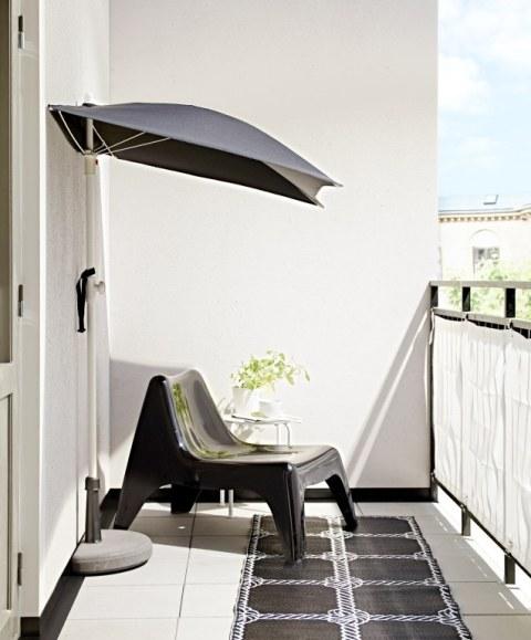 pomys na ma y balkon aran acja ma ego balkonu taras balkon. Black Bedroom Furniture Sets. Home Design Ideas