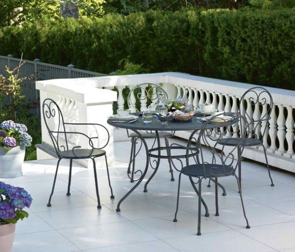 Metalowe meble ogrodowe  metalowe meble na taras i balkon