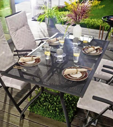 Meble Ogrodowe Rattanowe Castorama : Metalowe meble ogrodowe  metalowe meble na taras i balkon