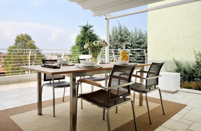 Meble Ogrodowe Aluminium I Drewno : Metalowe meble ogrodowe  metalowe meble na taras i balkon