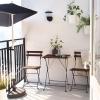Mobilne meble na balkon i taras