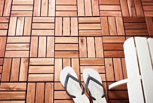 Pomysł Na Balkon Podesty Drewniane Zamiast Płytek