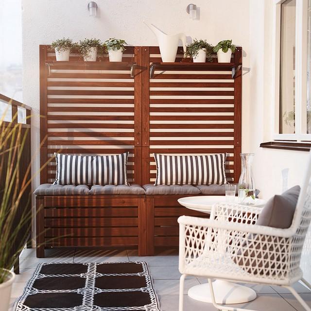 pomys na taras jak urz dzi ma y taras jadania czy k cik wypoczynkowy. Black Bedroom Furniture Sets. Home Design Ideas