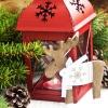 Świąteczne dekoracje tarasu i balkonu