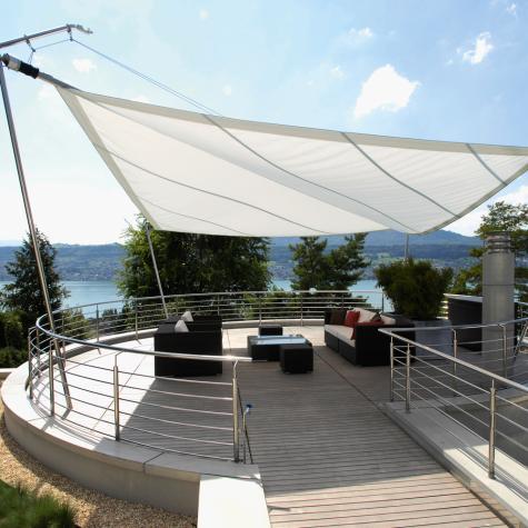 Zadaszenie tarasu i balkonu daszki markizy zadaszenia for Imagenes de toldos
