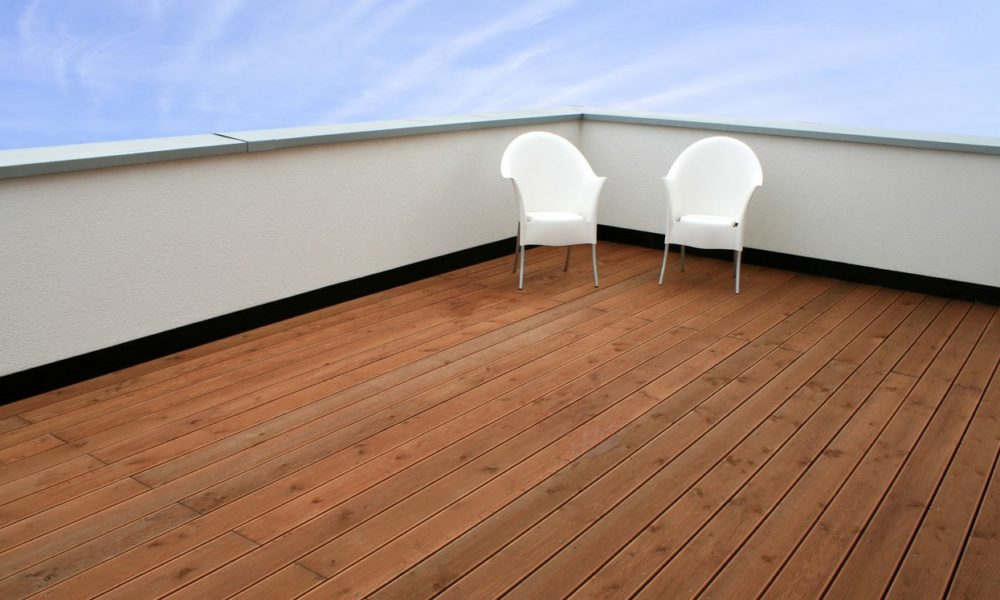 drewno egzotyczne taras balkon