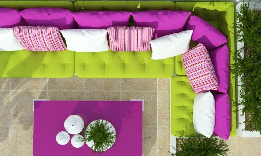 poduszki taras balkon