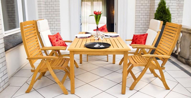 drewniane meble na taras i balkon jakie meble tarasowe wybra. Black Bedroom Furniture Sets. Home Design Ideas