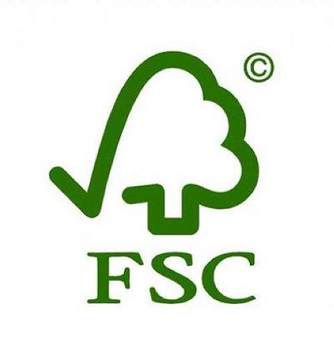 symbol FSC - międzynarodowej organizacji Forest Stewardship Council A.C.