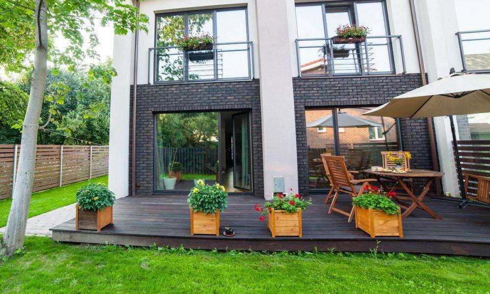 donice ogrodowe z drewna