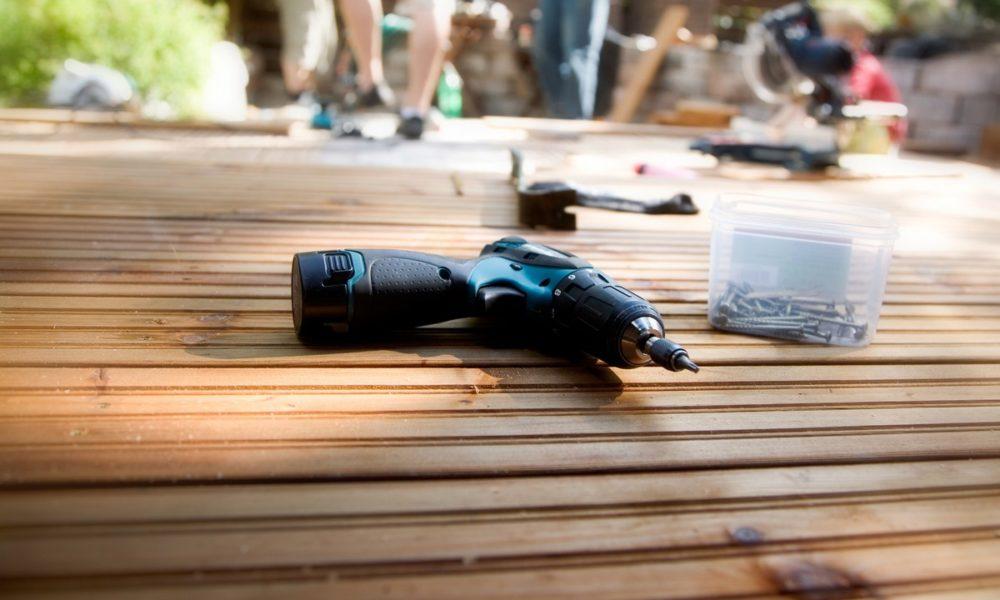 taras drewniany krok po kroku