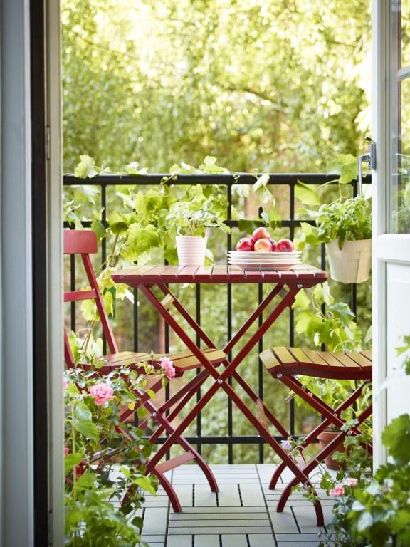 ma y balkon jak go urz dzi pomys na ma y balkon. Black Bedroom Furniture Sets. Home Design Ideas