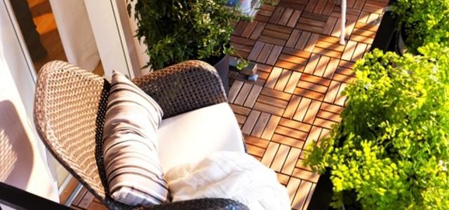 Podesty drewniane czyli drewno na balkonie uk adanie podest w - Balkon bescherming leroy merlin ...