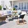Modne meble i dodatki na balkon lub taras