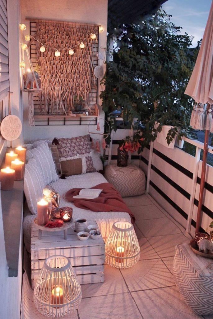 oświetlenie balkonu